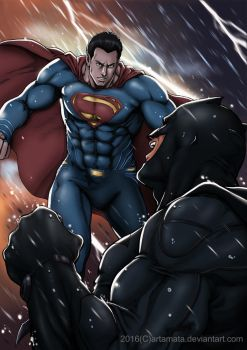 Batman Vs Superman by Artamata