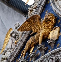 Detail of St. Mark's Basilica by Shifter6