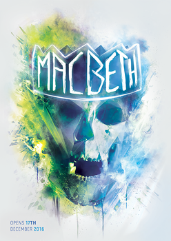 Macbeth Poster by SUPERsaeJANG