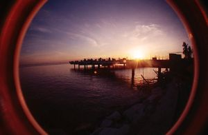 fisheye april - baywalk sunset by jcgepte