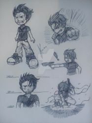 Old Drawings - 026 - Character Concept by ktou