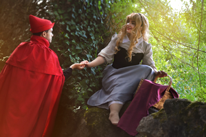 Briar Rose and Prince Phillip - Sleeping Beauty by Cat-sama