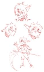 Rosswell Doodles by Gato-Sama