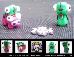 Gir Figures and Felzmade logo by ItsmeJonas