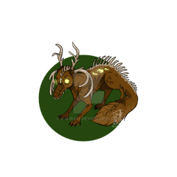 Forest Creature - ADOPT by Safira17