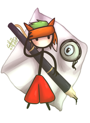 jacksepticeye as fancy pants by Catherin478