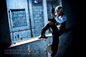 Gunslinger Girl: Triela by bloodyblue