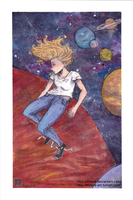 Girls in space: Victoria by Disaya
