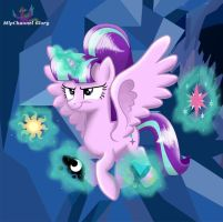 MLP - Starlight Alicorn take princesses Cutie Mark by Mlpchannelglory999