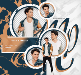 PACK PNG 687   DIEGO BARRUECO. by MAGIC-PNGS