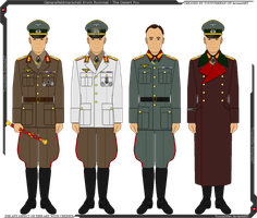 Some of Erwin Rommel's Uniforms by Grand-Lobster-King