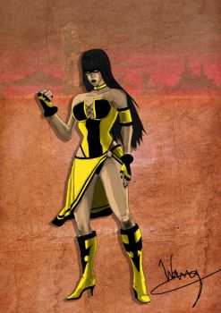 Mortal Kombat 10 Tanya Unofficial Concept preview by eddywang
