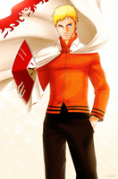 Naruto | The Orange Hokage by DivineImmortality