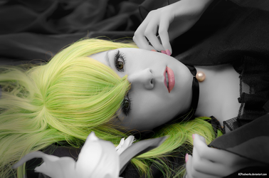 Green + Pink by black4tears