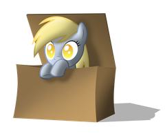 Derpy in the box by ZantyARZ