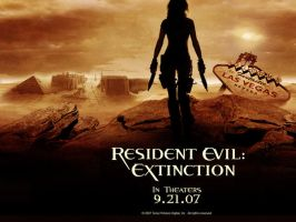 Resident Evil Extinction by oogaa