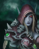 Sylvanas by Fanfoxy