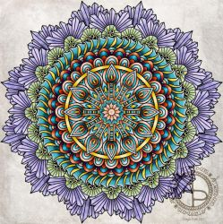 Mandala 23 Feb 2019 by Artwyrd