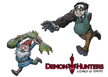 Demon Hunters: A Comedy of Terrors - Ned's Plight by OutlawOrange