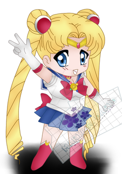 sailor moon chibi by creadora-deo-cs