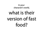 What is their version of fast food? by GreekCeltic