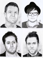 Fall Out Boy by FabArtistic