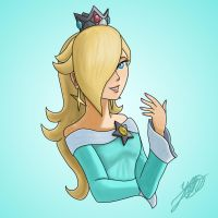 Princess Rosalina by StarWolf597