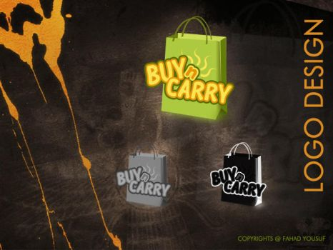 Logo Designed Buy n Carry 2009 by creativefad