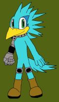 Ky the Robotic Jet Bird by Chimcharlover13