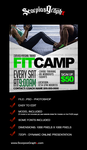 Fit Camp Instagram Template by ScorpiosGraphx