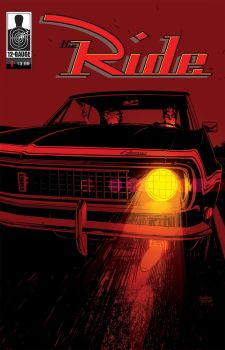 The Ride Cover Red by Andrew-Robinson
