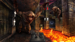 Quake - Battle Against the Two Fiends by Elemental79