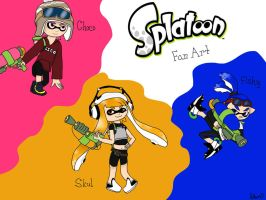 Splatoon Fanart by Silversan-Art