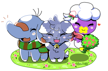Team Dandelion by Hime--Nyan