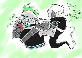 Texting by Shaed-Knightwing