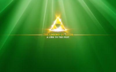The Legend of Zelda : A Link to the Past by Couiche