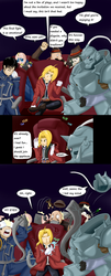 Elric brothers at a play by TheBadGrinch