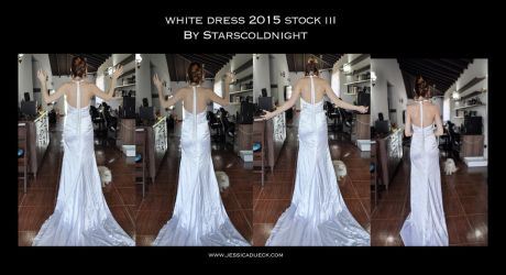 White Dress 2015 Stock 3 By Starscoldnight by StarsColdNight