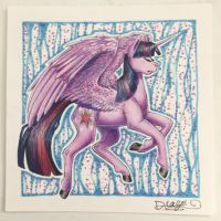 Twilight Sparkle for sale [OPEN] by Drago-Draws