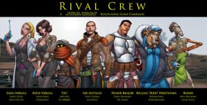 Star Wars: The Rival Crew by LucasAckerman