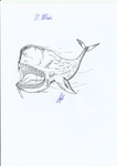 Monstro. The monstruous whale by BoederMan