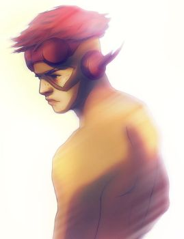 Kid Flash by andrahilde