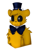 What's a sad golden bear by SoundwavePie