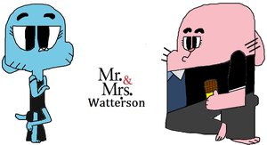Mr and Mrs Watterson by NatoMX