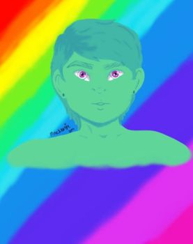Gay alien? by NexiusxHeartsx
