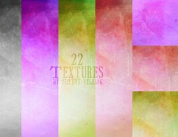 22 Textures .. by Silent-yelling
