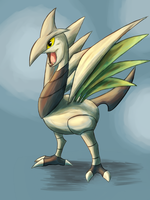 Shiny Skarmory by Nexeron