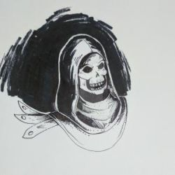 Inktober Day 7- Skeletor by AlexFlex15