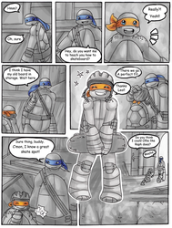 TMNT- One Small Turtle: Skateboarding Pg.2 by Tenshilove