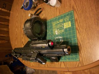 Warhammer 40K Bolter Carbine by Frost-Claw-Studios